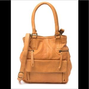 🆕 Anthropologie x Day and Mood tan leather bag
